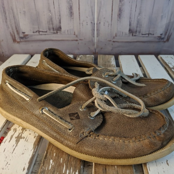 Sperry top-sider mens shoes loafers flats deck boa